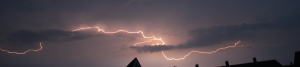 Lightning captured by Magic Lantern's Motion Detection