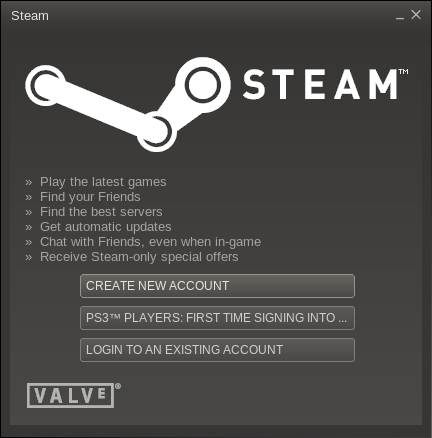 Steam for Linux beta - New account or login?